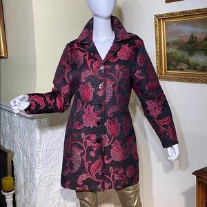 Vintage Attitude Brocade Coat